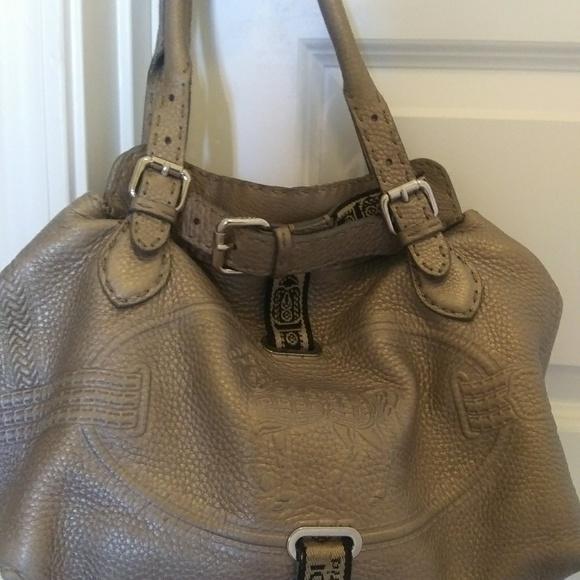 Fendi Handbags - FENDI Selleria horse bag